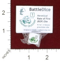 Dice : MINT44 BATTLESCHOOL BATTLEDICE HERETICAL RATE OF FIRE