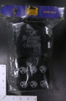 Dice : FOAM3 NECA NIGHTMARE BEFORE CHRISTMAS FUZZY DICE
