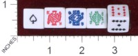 Dice : MINT36 UNKNOWN POKER