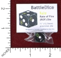Dice : MINT45 BATTLESCHOOL BATTLEDICE BABY RATE OF FIRE
