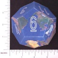 Dice : PAPER D12 3 DODECEARTH 05