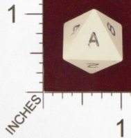 Dice : D8 OPAQUE SHARP SOLID ARMORY 01