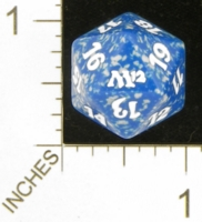 Dice : D20 OPAQUE ROUNDED SPECKLED MTG LIFE COUNTERS M12 03