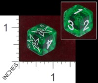 Dice : MINT37 UNKNOWN CHINESE CTHULHU ELDER SIGN