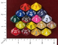 Dice : MINT46 CHESSEX D10