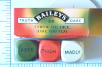 Dice : SEX BAILEYS 01 TRUTH OR DARE