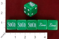 Dice : MINT33 SOUTHERN COMFORT SOCO AND LIME 01