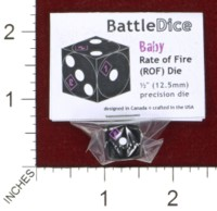 Dice : MINT44 BATTLESCHOOL BATTLEDICE BABY RATE OF FIRE