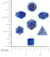 Dice : STONE MULTI CRYSTAL CASTE CATSEYE SYNTHETIC FIBER OPTIC 01