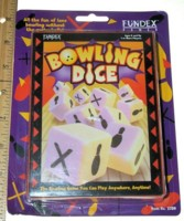 Dice : MINT4 FUNDEX BOWLING DICE