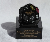 Dice : MINT22 CUSTOMDICE DOT COM DIE NUMBER 30000