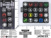 Dice : MINT52 GAMES WORKSHOP DEATHWATCH
