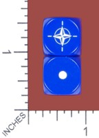 Dice : MINT53 DICE OF WAR NATO
