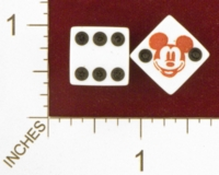 Dice : MINT25 UNKNOWN MICKEY MOUSE 01