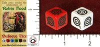 Dice : MINT49 BLACK OAK WORKSHOP Q WORKSHOP BULLSEYE DICE DAGGERS