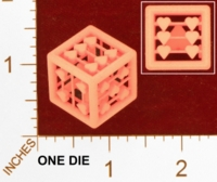Dice : MINT26 SHAPEWAYS MCTRIVIA HEART D6 01