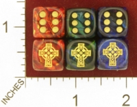 Dice : MINT28 JSPASSNTHRU CELTIC CROSS 01