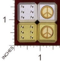 Dice : MINT32 ACE PRECISION PEACE SYMBOL 01