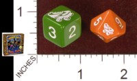 Dice : MINT35 IMPACT MINIATURES IMPACT CITY ROLLER DERBY 01