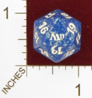 Dice : D20 OPAQUE ROUNDED SPECKLED MTG LIFE COUNTERS M11 03