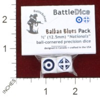Dice : MINT44 BATTLESCHOOL BATTLEDICE NATIONALS BALKAN BLUES
