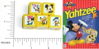 Dice : NON NUMBERED MILTON BRADLEY MICKEY FOR KIDS YAHTZEE DISNEY 01