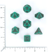 Dice : MINT56 HENGDA MANUFACTURING TWO TONE PORCELAIN 01
