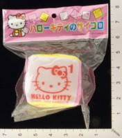 Dice : FOAM2 SANRIO HELLO KITTY 01