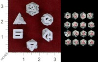Dice : MINT42 SHAPEWAYS MISPHER CONNECT DICE