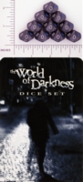 Dice : D10 OPAQUE ROUNDED IRIDESCENT WW WORLD OF DARKNESS