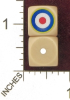 Dice : MINT28 NERO GAMING DICE ALLIES UNITED KINGDOM ROUNDEL 01