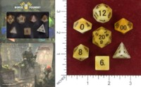 Dice : MINT46 NORSE FOUNDRY YELLOW STONE MANMADE JADE