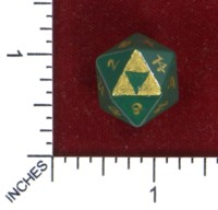 Dice : MINT50 AROC GAMING ZELDA TRIFORCE