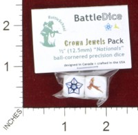 Dice : MINT44 BATTLESCHOOL BATTLEDICE NATIONALS THE CROWN JEWELS