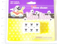 Dice : MINT4 38 DISNEY MICE DICE