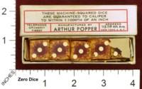 Dice : MINT34 ARTHUR POPPER 01