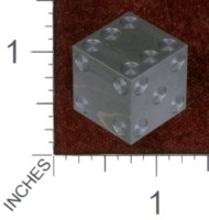 Dice : MINT36 CYBERNETIC RESEARCH LABORATORIES AMBER RIX MACHINED PRECISION DICE STEEL DAMASCUS
