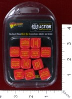 Dice : MINT39 WARLORD GAMES BOLT ACTION ORDER DICE 01