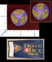 Dice : MINT47 TSR DRAGON DICE KINGS DIE