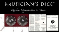 Dice : DUPS02 D12 PHILOMUSE MUSICIANS DICE 01
