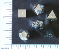 Dice : MINT4 31 GAMESCIENCE SILVER