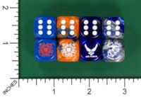 Dice : MINT55 JSPASSNTHRU US COAST GUARD AIR FORCE MARINES