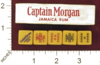 Dice : MINT27 CAPTAIN MORGAN JAMAICA RUM 01