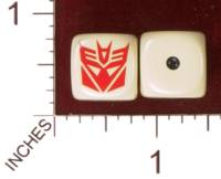 Dice : MINT30 YAK YAKS TRANSFORMERS DECEPTICONS 01