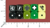 Dice : MINT53 DICE OF WAR AXIS