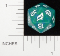 Dice : D20 OPAQUE ROUNDED SPECKLED MTG LIFE COUNTERS LORWYN 05