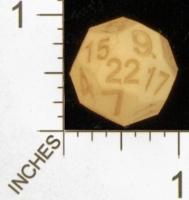 Dice : MINT28 SHAPEWAYS MCTRIVIA SOLID D22 01