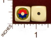 Dice : MINT29 YAK YAKS US ARMY 9TH INFANTRY DIVISION 01