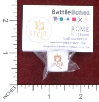 Dice : MINT48 BATTLESCHOOL BATTLEBONES ROME COMMAND AND COLORS