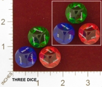 Dice : MINT25 THINK GEEK GEEK DICE 01